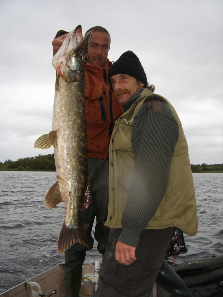 Pêche au brochet