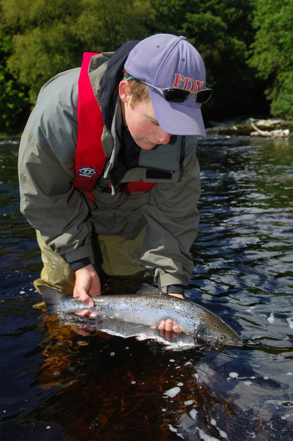Pêche au saumon Furnace